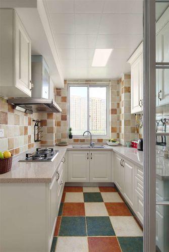 90平米三室两厅地中海风格厨房装修图片大全