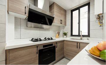 120平米三室一厅北欧风格厨房欣赏图