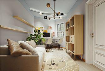 120平米三室一厅法式风格书房欣赏图