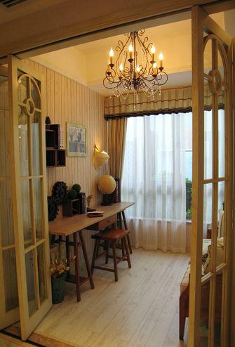 110平米三室一厅地中海风格书房装修案例