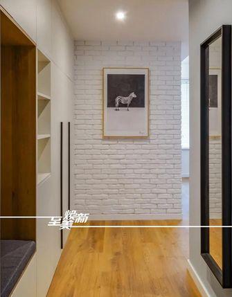 80平米三室三厅日式风格玄关效果图