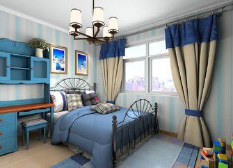 90平米三室一厅地中海风格儿童房欣赏图