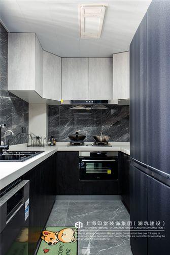140平米三室两厅现代简约风格厨房装修案例