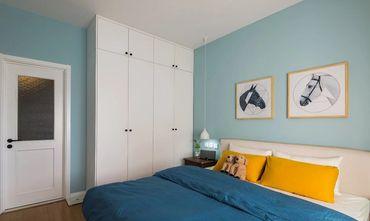 130平米三室一厅其他风格卧室欣赏图