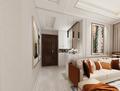 120平米三室两厅其他风格走廊效果图