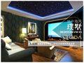 20万以上140平米别墅地中海风格影音室装修效果图