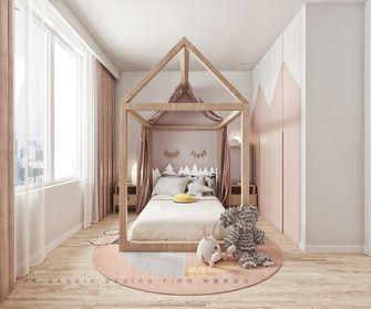 富裕型120平米复式现代简约风格儿童房效果图