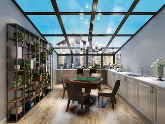 140平米四美式风格阳光房设计图