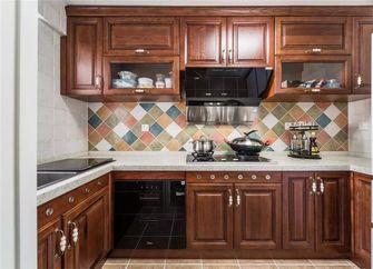 100平米四室两厅美式风格厨房设计图