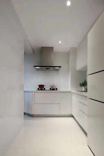 80平米公寓现代简约风格厨房效果图