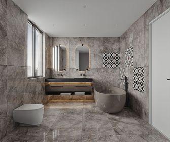 140平米三室两厅现代简约风格卫生间装修效果图