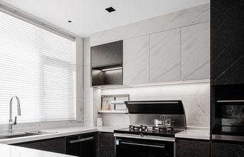 130平米三室一厅现代简约风格厨房装修案例