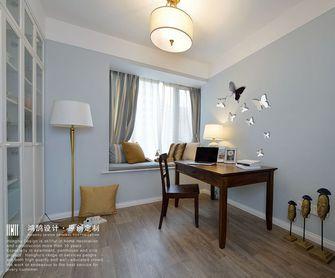 富裕型120平米三室两厅美式风格书房装修效果图