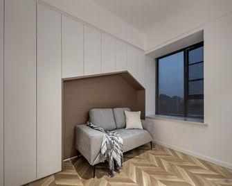 110平米三室两厅现代简约风格书房图片大全