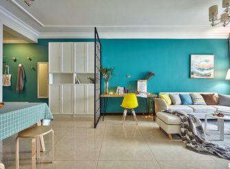 富裕型80平米宜家风格客厅装修效果图