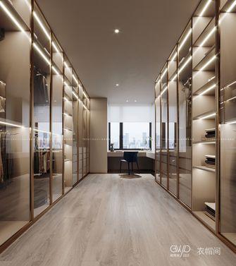 140平米四室三厅现代简约风格衣帽间图片
