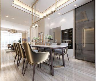 140平米三室两厅欧式风格餐厅图片