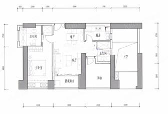 60平米一室一厅中式风格其他区域图片