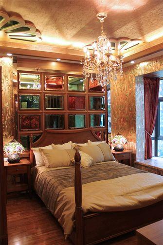 富裕型140平米三室三厅东南亚风格卧室图片