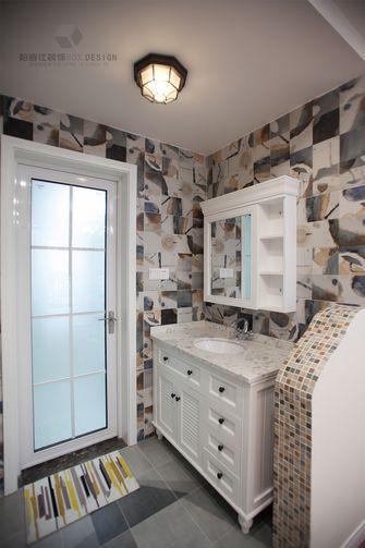 110平米三室两厅美式风格卫生间装修效果图