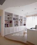 5-10万120平米四室三厅田园风格书房效果图