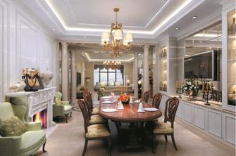 140平米复式东南亚风格餐厅欣赏图