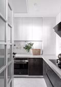 100平米三室两厅宜家风格厨房设计图