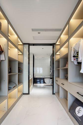 100平米三室一厅北欧风格衣帽间设计图