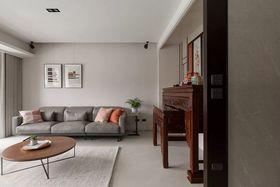 130平米三室一厅现代简约风格客厅装修案例