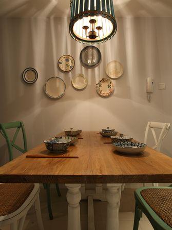 70平米一室两厅美式风格餐厅效果图