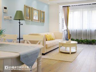 60平米一室两厅美式风格客厅装修效果图