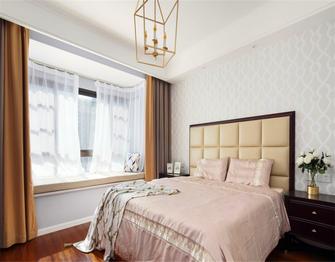 140平米四室一厅美式风格卧室图