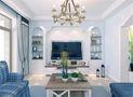 140平米四室三厅地中海风格客厅装修案例