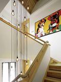 15-20万140平米四室两厅北欧风格楼梯装修案例