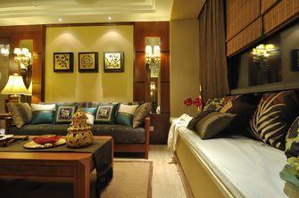 120平米三室两厅东南亚风格客厅装修案例