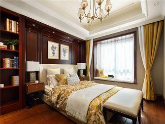 140平米四室两厅英伦风格卧室装修效果图