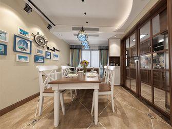 140平米四室两厅田园风格餐厅装修图片大全