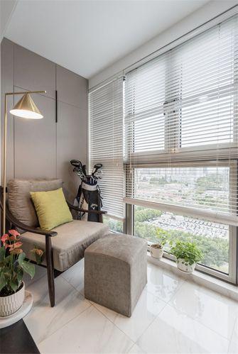 60平米一室两厅混搭风格阳台装修图片大全