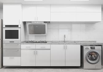 30平米超小户型现代简约风格厨房装修案例