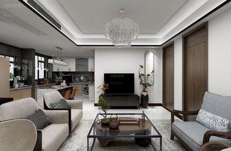 100平米中式风格客厅装修案例