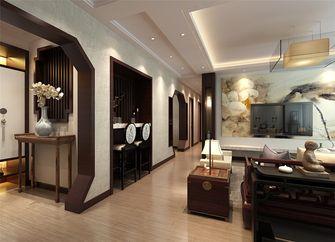 140平米四室两厅中式风格走廊欣赏图