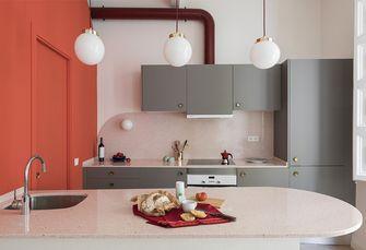 110平米三室一厅北欧风格厨房设计图