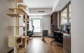110平米日式风格书房欣赏图