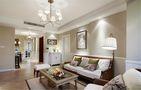 140平米三室两厅美式风格客厅沙发装修图片大全