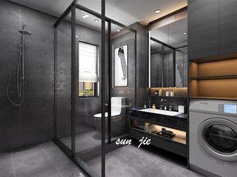 130平米复式现代简约风格卫生间装修案例
