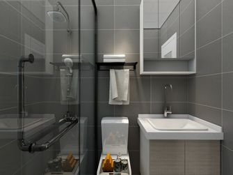 140平米四室一厅混搭风格卫生间装修案例