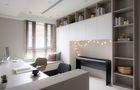 50平米小户型日式风格书房设计图