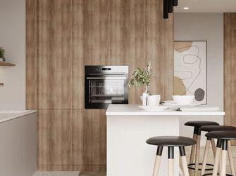 80平米一室两厅北欧风格厨房欣赏图