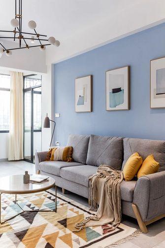 110平米四室一厅北欧风格客厅图片大全