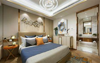 120平米三英伦风格卧室装修效果图